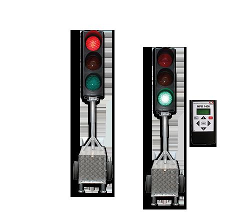 Portable Traffic Lights Cable Quartz Or Radio